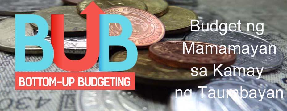 Bottom-up Budgeting to cover all barangays next year - Bayanihan