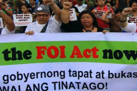 Congress still needs to pass FOI law despite EO, Senator says
