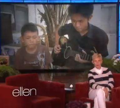 Talented Filipino Kid Invited to Ellen