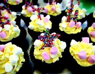 Benjamin's Birthday Cupcake