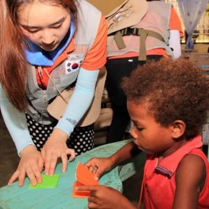 Korean students reach out to Zambales mountain Aetas