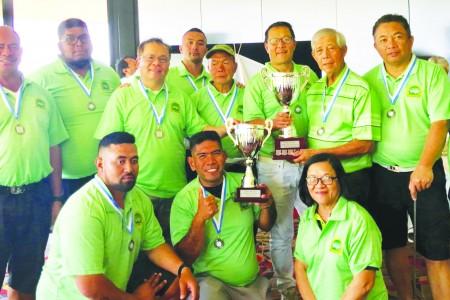 Metro Team Prevails in Interclub Golf