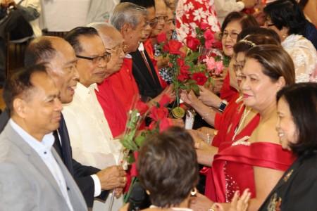 Pagdiriwang ng Valentines Day at Seniors Week