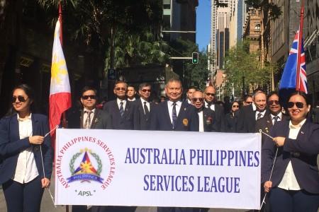 Sydney's APSL salutes Filipino WW I soldiers