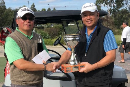 Philippine community's  Kalayaan 2020 golf cup