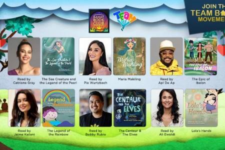 "TFC's ""Bahay Book Club"" features Catriona Gray, Pia Wurtzbach, Apl De Ap, Jaime Keilani, Bobby Rubio"