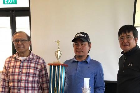 Capistrano of Lurnea wins 22nd GOLF ParE Social Club's Anniversary Cup