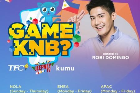 """Game Ka Na Ba"" show available on  TFC IPTV and Kumu app"