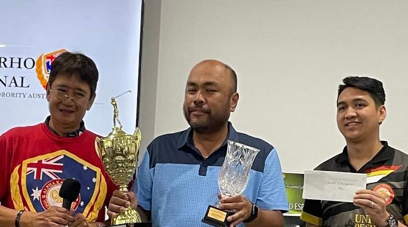 Rommel Gaerlan bags 2nd AKRHO Invitational golf trophy