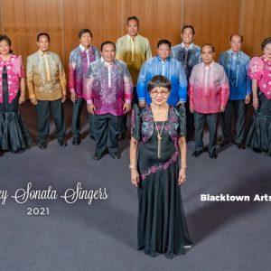 "Community choir ""Sonata Singers"" in 75th Anniversary Of Philippine-Australian  Diplomatic Relationship"