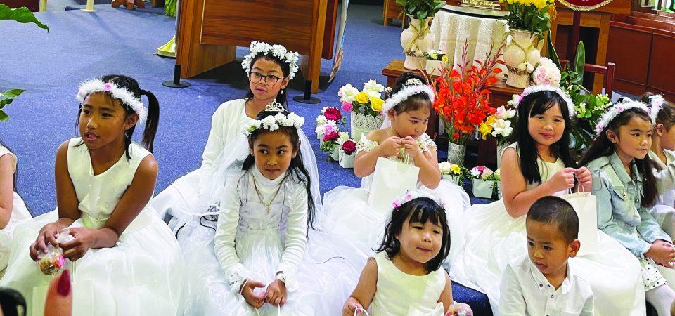 Flores de Mayo again at St. Nicholas of Myra Church in Penrith, NSW