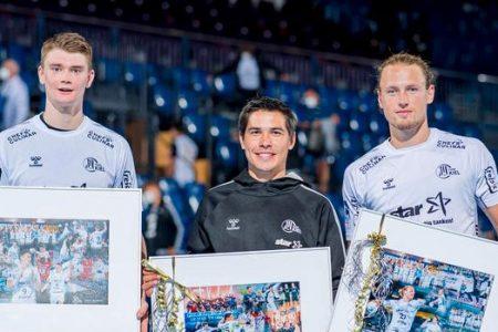 Fil-Aussie handballer celebrates team's win in Bundesliga